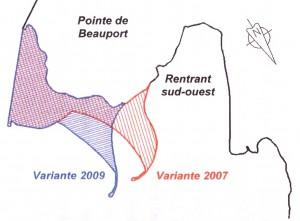 Groupe-conseil Lasalle - Port de Québec - Extension secteur Beauport - Étude conditions hydrosédimentologiques - Avril 2010 - Variantes 2007 et 2009