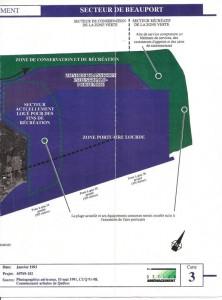 Option Aménagement - Schéma extension port de Québec à Beauport - Moitié droite - 1993-01