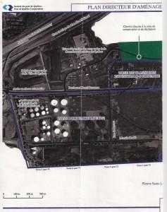 Option Aménagement - Schéma extension port de Québec à Beauport - Moitié gauche - 1993-01