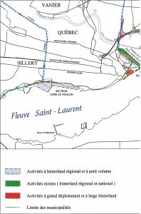 Port de Québec - Plan utilisation des sols - Expansion Beauport - moitié gauche - 2000-10