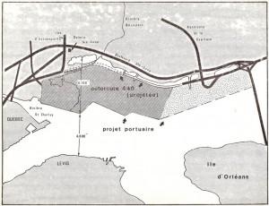 Schéma extension port de Québec à Beauport - 1978